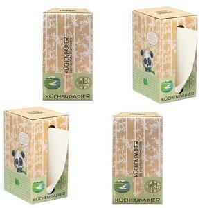 Smooth Panda Küchenpapier (800 Blatt) 2-lagig im 4er Pack - Smooth Panda