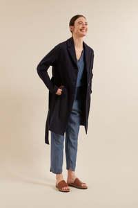 Jersey-Mantel aus Bio-Baumwolle mit Tencel Lyocell  - LANIUS