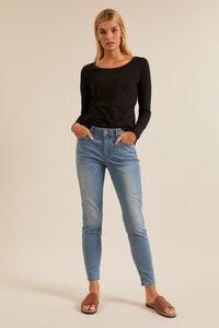 High-Waist-Jeans aus Bio-Baumwolle - LANIUS