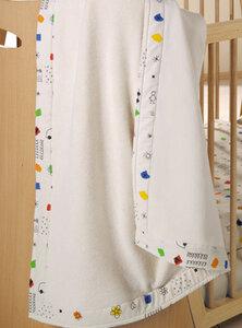Kuscheldecke Fantasia 100 % Baumwolle (kbA) herrlich für Babys - Prolana