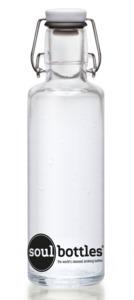 soulbottle 0,6l 'Basic' Trinkflasche aus Glas - soulbottles