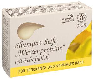 Schafmilchseife für trockenes und normales Haar. - Saling Naturprodukte