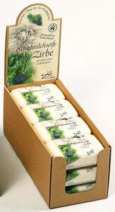 Schafmilchseife Zirbe 12er Set - Saling Naturprodukte