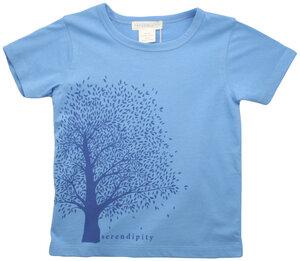 Kurzarm T-Shirt mit Baumprint - Serendipity