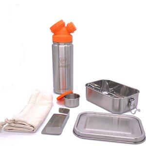 JuNiki´s® Lunchbox + Trinkflasche isoliert 550ml 8 Farben - JN JuNiki's