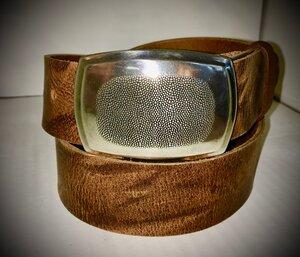 HAWAII - Handgemachter Ledergürtel  - SaSch belt & bags