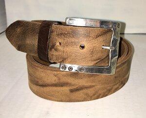 LAS VEGAS - Handgemachter Ledergürtel  - SaSch belt & bags