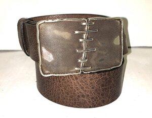 MONTREAL - Handgemachter Ledergürtel  - SaSch belt & bags