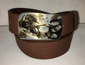 TOKIO - Handgemachter Ledergürtel  - SaSch belt & bags
