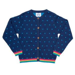 Kite Mädchen Cardigan Heart reine Bio-Baumwolle - Kite Clothing