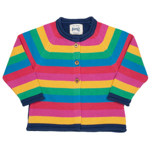 Kite Baby und Kinder Cardigan Rainbow reine Bio-Baumwolle - Kite Clothing