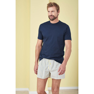 Living Crafts Herren Web Boxer Shorts Gregor Doppelpack Bio-Baumwol - Living Crafts