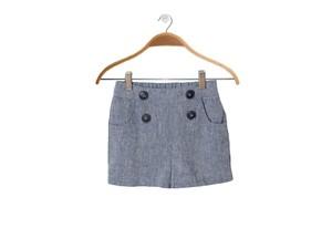 Leinen Shorts Caprice in Blau - Peter Jo Kids
