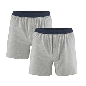 Living Crafts Herren Boxer-Shorts 2er-Pack Bio-Baumwolle ETHAN - Living Crafts