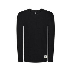 Waffleknit Sweater Schwarz - bleed