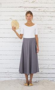 Midi Leinen Rock - Laurel Skirt - Suite 13
