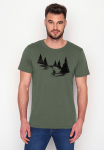 T-Shirt Spice Nature Bear Romantic - GreenBomb