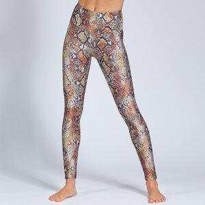 Yoga Leggings SNAKE aus Funktionsmaterial - Magadi