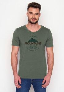 T-Shirt Peak Bike Travel Guide - GreenBomb