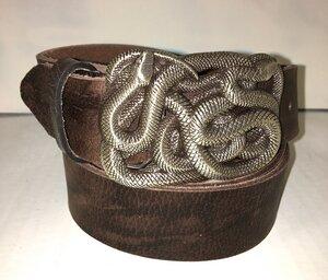 ROM - Handgemachter Ledergürtel  - SaSch belt & bags