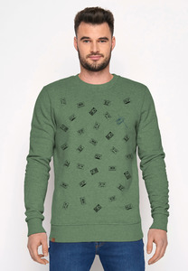 Sweatshirt Wild Lifestyle Tapes - GreenBomb