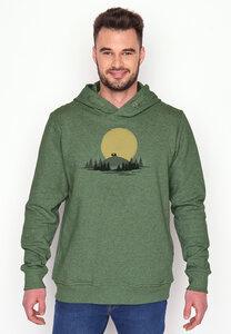 Hooded Sweater Star Nature Caravan - GreenBomb