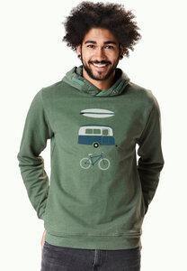 Hooded Sweater Star Nature Fun - GreenBomb