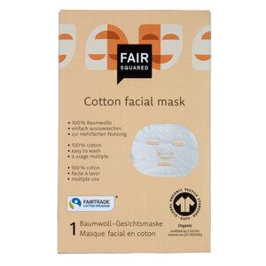 Fair Squared Baumwoll-Gesichtsmaske - Fair Squared