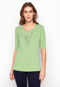 T-Shirt Deep Animal Deer Couple - GreenBomb