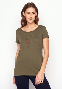 T-Shirt Loves Animal Deer Couple - GreenBomb