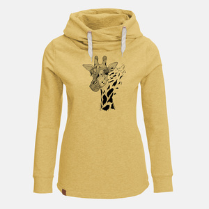 Hooded Sweat Lucky Animal Giraffe - GreenBomb