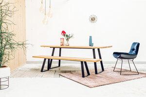 Kingston - Dining Table - Esstisch massiv Holz - MYWOODNESS