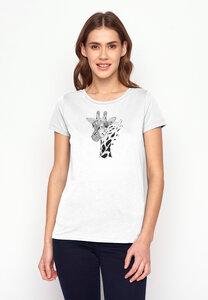 T-Shirt Loves Animal Giraffe - GreenBomb
