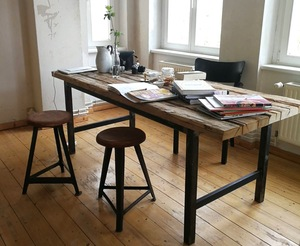 Oswald - Dining Table - Esstisch (upcycled) - MYWOODNESS