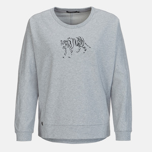 Sweatshirt Slack Animal Tiger - GreenBomb