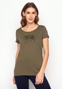 T-Shirt Loves Animal Tiger - GreenBomb