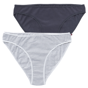 Damen Slip 2er Set - Doppelpack Slips  - People Wear Organic