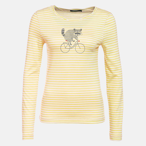 Longsleeve Charme Bike Raccoon - GreenBomb