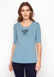 T-Shirt Deep Bike Raccoon - GreenBomb