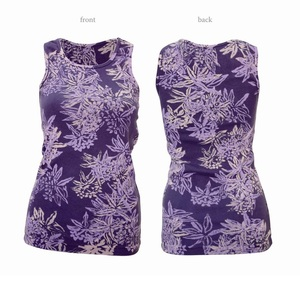 Ladies Flower Tanktop - Chakura by Ku Ambiance