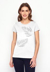 T-Shirt Loves Plants Jungle Leaves - GreenBomb