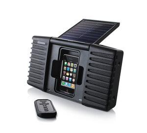 Soulra SP400 Solar Soundsystem für iPhone und iPod - Soulra