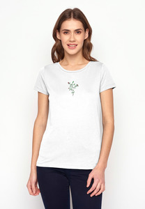 T-Shirt Loves Plants Sweet Blossom - GreenBomb