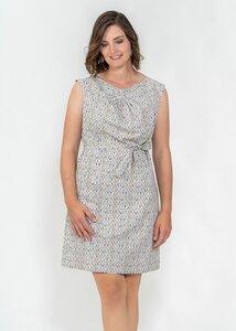 Kleid Annette mit Pünktchen - Green Size