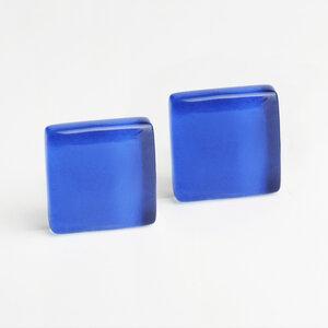 Minimalistische Ohrclips aus Glas   PUREFORM - ALEXASCHA