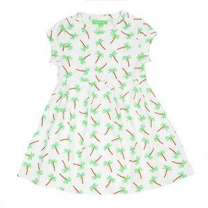 Mädchenkleid Hanna palm trees - Lily Balou