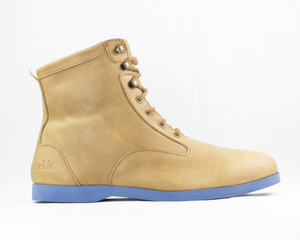 desert high / camel leather / blue sole - ekn footwear