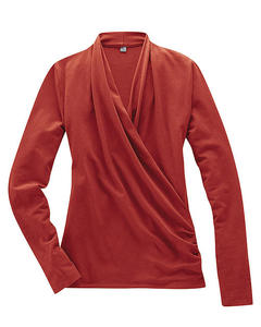 Shirt Scarlett, rosehip - HempAge