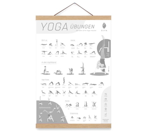 Magnetische Posterleiste / Bilderleiste für A2 42cm aus Buchenholz - SIYA
