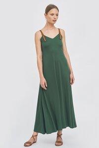 Kleid aus Tencel mit Trägern - Mila.Vert